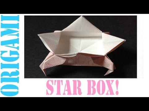 Origami Daily - 018: Floating Star Box (By Suhas) - TCGames [HD]