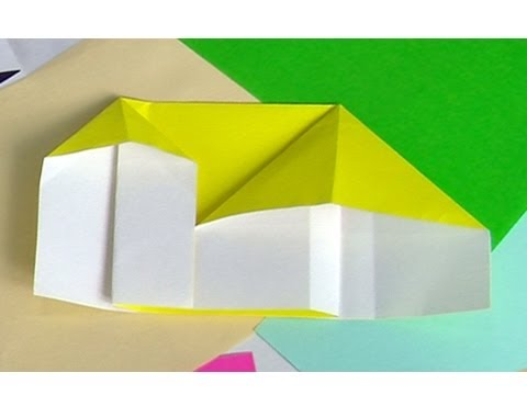 Origami House Variation 2