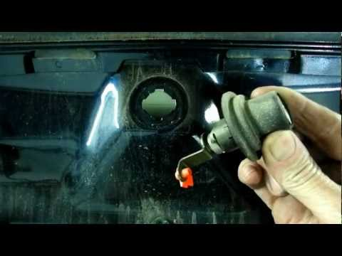 Trunk Lock Cylinder Removal