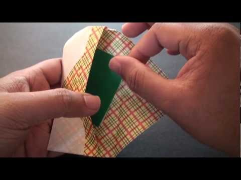 Origami Daily - 295 Gift Envelope (Note Case) - TCGames [HD]