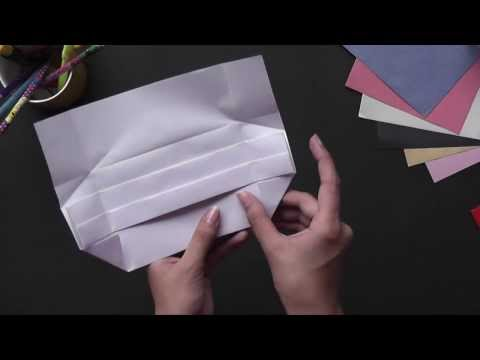 Origami - How to Make an Envelope (HD)