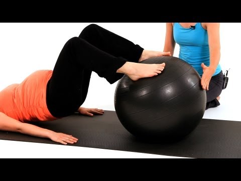 Prenatal Workouts with Exercise Balls | Pregnancy Exercises