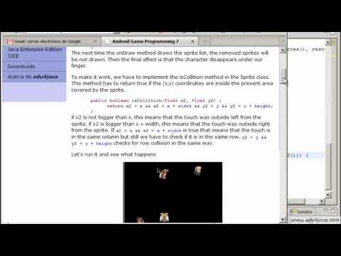 Programación juegos Android. Tutorial 7