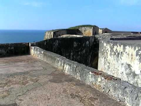 The top of Fort San Juan, Puerto Rico