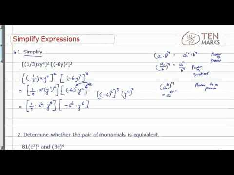 Simplify Exponential Expression