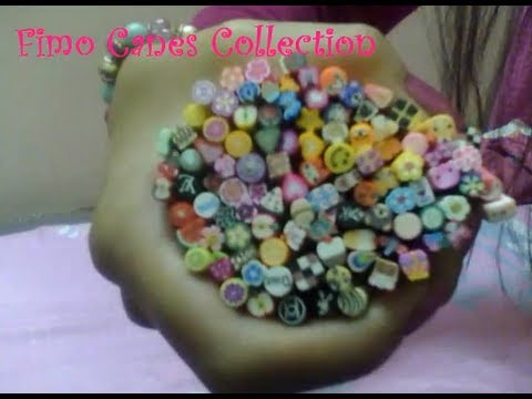 ♥ FIMO CANES Collection Video ♥ ( • ◡ • )