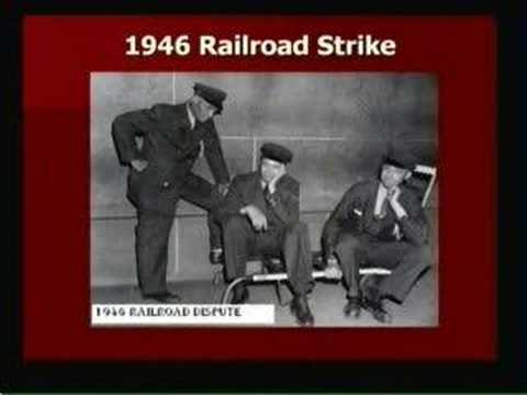 Truman & the Railroad Strike of 1946 - Part 1