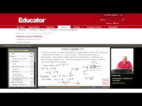 Physics: Friction (Newton's Laws of Motion)