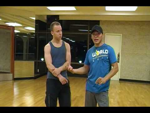 Wing Chun - Bong Sau/Lop Sau Drill (part 3)