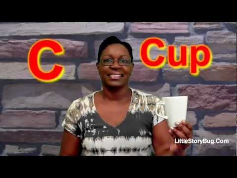 Preschool Activity - C is for Cup - Littlestorybug