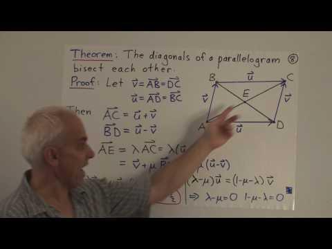 WildLinAlg2d: Geometry with vectors (cont.)