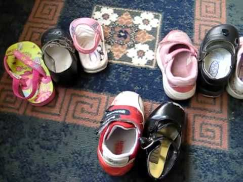 Toddler-Math. Left and right shoes