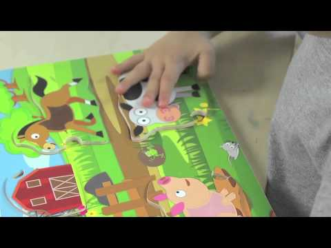 PBS KIDS Toys Educational Benefits: Explore the Barn: 3-Layer Puzzle
