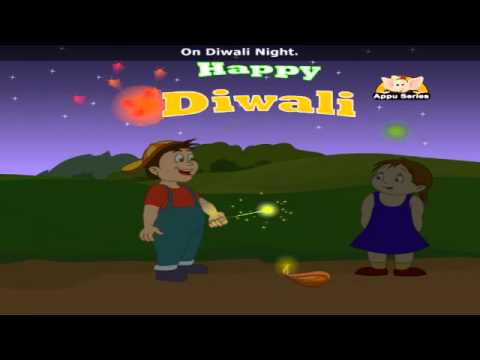 On Diwali Night with Lyrics - Nursery Rhyme