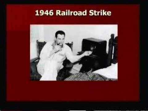 Truman & the Railroad Strike of 1946 - Part 3