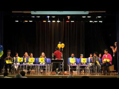 OUSD Spelling Bee Elementary Final 2012
