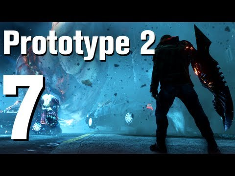 Prototype 2 Walkthrough Part 7 - Blacknet Stronghold 4D [No Commentary / HD / Xbox 360]