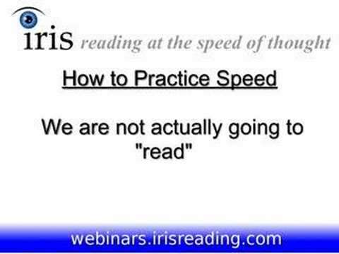 Speed Reading Tutorial (3/8) - Three Old Reading Habits