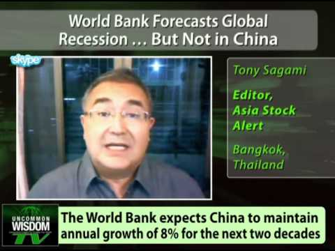 World Bank Forecasts Global Recession