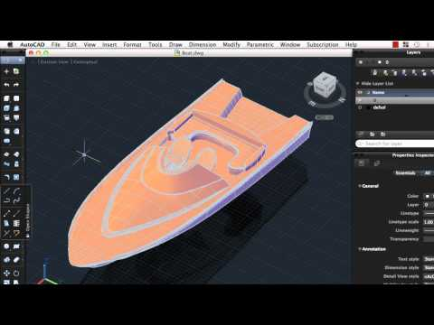 Preview the User Interface: AutoCAD 2013 for Mac