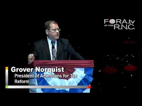 Taxes and the GOP - Grover Norquist
