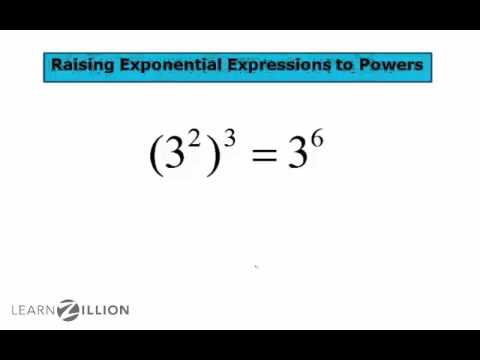 Raise exponential expressions to powers - 8.EE.1