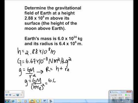 Universal Gravitation Presentation #12