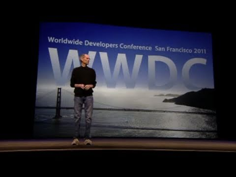 Steve Jobs WWDC 2011 Keynote in 60 Seconds