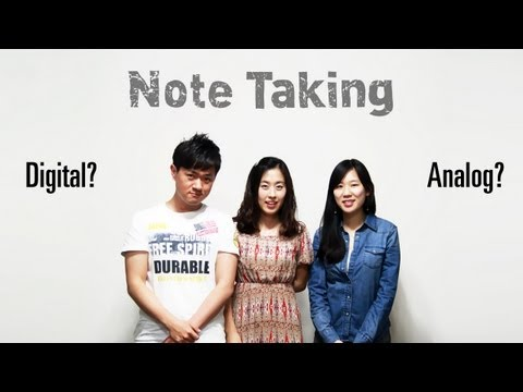 TTMIK Talk | Note-taking - Analog or Digital?