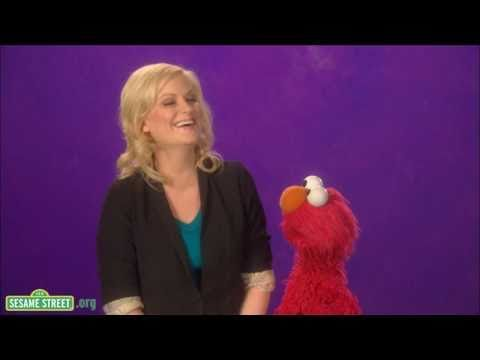 Sesame Street: Amy Poehler-Laughing