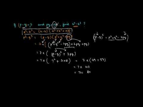 Problem on A cube   B cube II