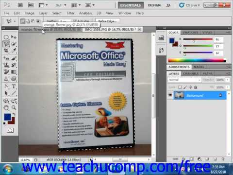 Photoshop CS5 Tutorial The Lasso Tools Adobe Training Lesson 7.5