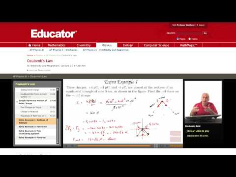 Physics: Coulomb's Law (Net Force)