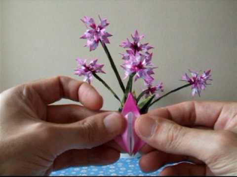 Origami Bulb Flower