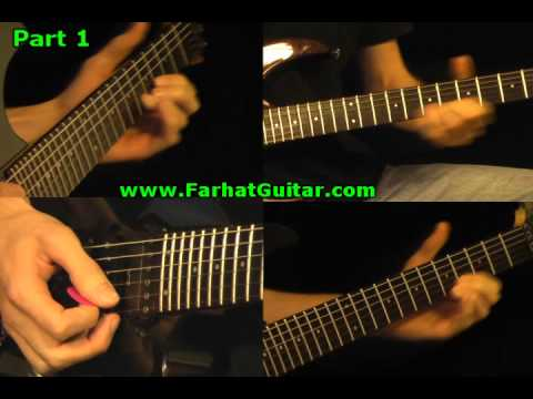 Run to the Hills Guitar Cover Iron Maiden Part 1