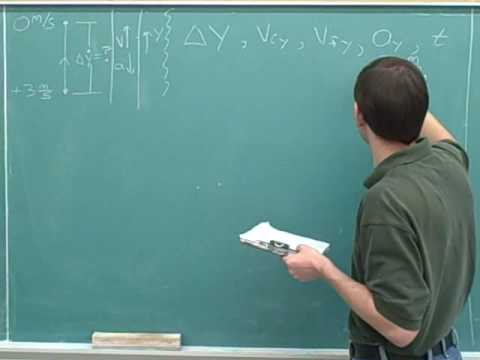 One-dimensional projectile motion (10)