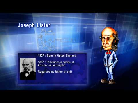 Top 100 Greatest Scientist in History For Kids(Preschool) - JOSEPH LISTER