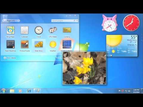 Windows 7: Windows Gadgets