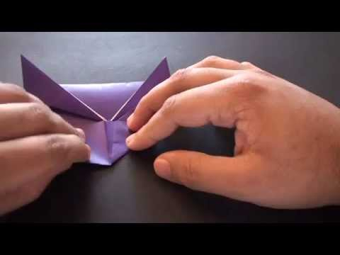 Origami Daily - 246 Easy Crab (Kids Origami) - TCGames [HD]