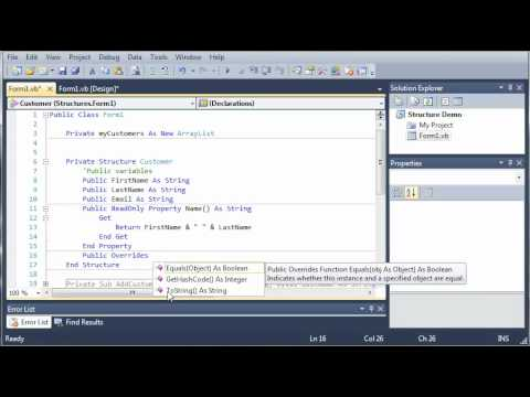 Visual Basic Tutorial - 78 - Overriding Functions