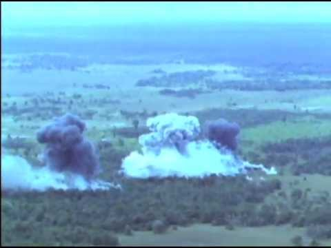VNAF A-1E Air Strikes Vietnam (1964)
