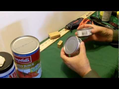 Turn any can into secret safe with magnet locking lid