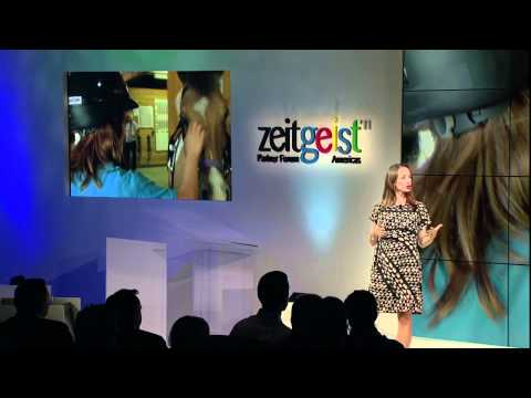 The News - Celine & Fabien Cousteau at Zeitgeist Americas 2011