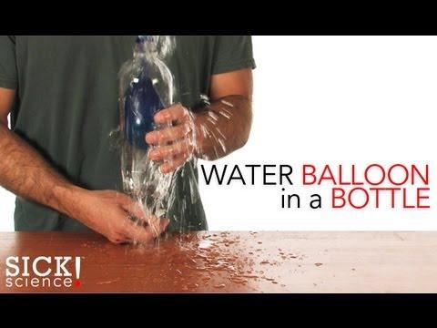 Water Balloon in a Bottle - Sick Science! #103