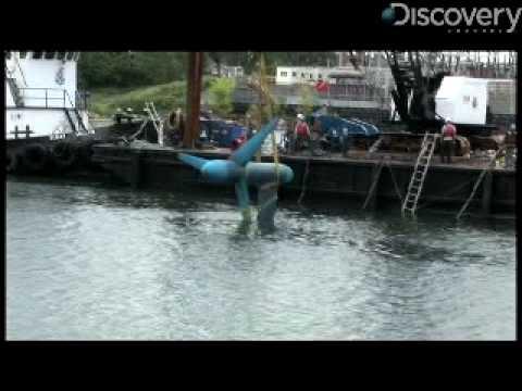 Underwater Turbines Pump Out Energy
