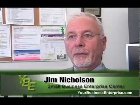 Small Business Enterprise Centres, Jim Nicholson