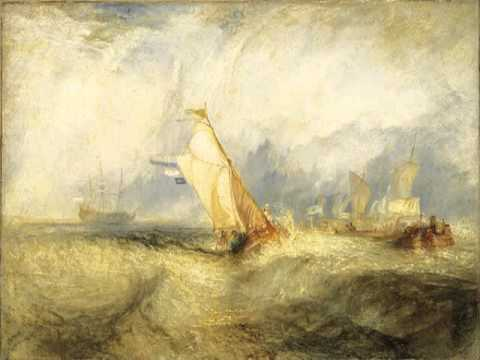 Van Tromp, going about to please his Masters, Joseph Mallord William Turner