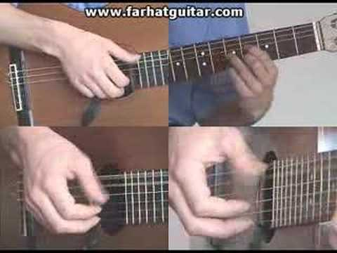 Right hand guitar exercise 5 - Clasical Guitar