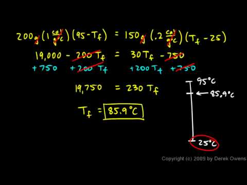 Physics 9.09c - Example 1