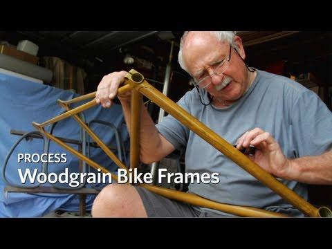 Process: Woodgrain Bike Frames
